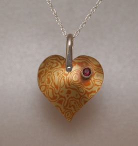 Mokume heart website